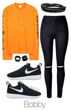 Chillin' with Bobby by ari2sk on Polyvore featuring polyvore, fashion, style, NIKE, BillyTheTree, NOVICA, Pernille Corydon and clothing