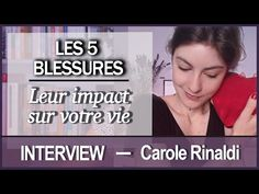 (1) LES 5 BLESSURES : leur impact sur votre vie - Carole Rinaldi - YouTube Interview, Carole, Live And Learn, Positivity, Learning, Youtube, Spirituality, Books, Insomnia
