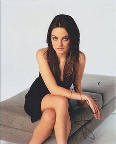 Mila Kunis Autographed Signed 8X10 Photo COA