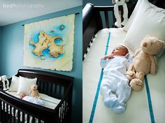 peter pan nursery or baby room inspiration. pirate, neverland, and peter pan ideas for baby. Disney Nursery, Baby Disney, Disney Cars, Baby Boy Rooms, Baby Boy Nurseries, Kid Rooms, Pirate Nursery Themes, Nautical Nursery, Carters Baby Boys