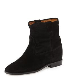 Crisi+Flat+Western+Ankle+Boot+by+Isabel+Marant+at+Bergdorf+Goodman.
