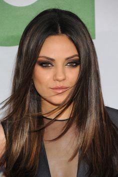 Mila Kunis I want her look.