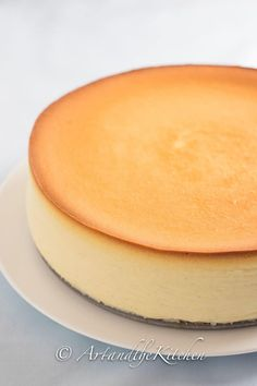 Tall and Creamy New York Cheesecake