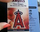 For Sale - Los Angeles Angels vs Texas Rangers Tickets 06/22/14 (Anaheim) - http://sprtz.us/LAAngelsEBay