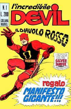 Daredevil - Devil n.1 - Editoriale Corno 1970 - Italy