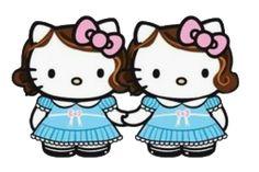 Hello Kitty Tattoos, Hello Kitty Pictures, Hello Kitty Birthday, Bead Loom Patterns, Halloween Design, Christmas Cross, Loom Beading, Plush Dolls, Sanrio