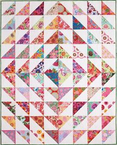 Enjoy the Beacon of Hope pattern from Quilting Quickly Spring 2014 issue. Designer DeElda Wittmack designed and made a cheerful quilt to honor all breast cancer survivors. What's better than flowers- pink flowers!Finished size: 73