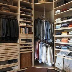 For Him: LA Closet Design   Closets   Tan Built Ins, Tan Built