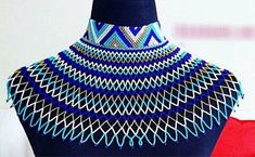 Zulu necklaces for all, Zulu necklace style, South Africa Necklace style , MamaZuriStyle Zulu, African Earrings, African Jewelry, African Accessories, Jewelry Accessories, Xhosa Attire, Africa Necklace, Beaded Jewelry, Beaded Necklace