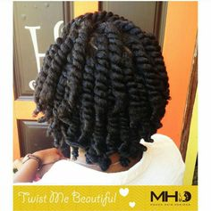 Jumbo Two Strand Twists