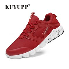 ff6ebab0c6739 KUYUPP Sport Men s Running Shoes Cushioning Flat With Men Sneakers Outdoor  Breathable Mesh Huaraches For Male Size 39 44 V13-in Running Shoes from  Sports ...
