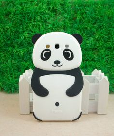 3D Bear Panda Soft Silicon Back Case for Samsung Galaxy SIII S3 I9300 Black ST41 | eBay