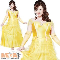 Belle #beauty plus size ladies fancy dress women #fairytale #princess adult costu,  View more on the LINK: 	http://www.zeppy.io/product/gb/2/111474180675/