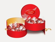 Lindt Chocolates Packaging on Behance
