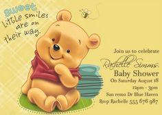 Baby Shower Winnie The Pooh Invitations.Free Printable Winnie The Pooh Baby Shower Invitation . Create Your Own Winnie The Pooh Baby Shower With These Ideas. Cute Baby Shower Ideas, Baby Shower Niño, Baby Shower Cupcakes, Baby Shower Favors, Baby Shower Themes, Winnie Pooh Baby, Winnie The Pooh Birthday, Pooh Bebe, Juegos Baby