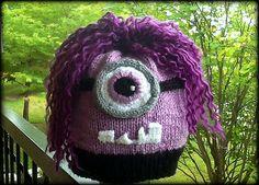 Purple Evil Minion hat from Despicable Me