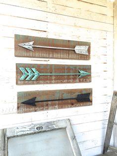 Arrow Wall Art metal arrow, arrow wall art, arrow decor, wall art, wall decor