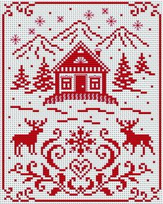 Free pattern from Cross Stitchers Club