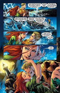 Aquaman and Mera! Mera Dc Comics, Dc Comics Art, Marvel Dc Comics, Aquaman, Comic Book Characters, Comic Books, Detective, Power Rangers Comic, Dr Fate