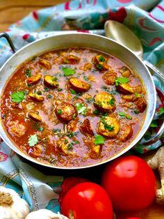 Western Omelette, Mushroom Omelette, Batch Cooking, International Recipes, Food Art, Stuffed Mushrooms, Curry, Tasty, Lunch