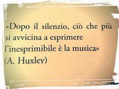 La musica...e il silenzio!