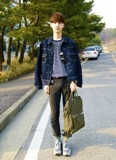 Korean fashion blogger Kim Myung Jun #blogger #fashionblogger