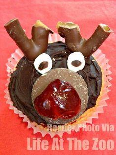Cheeky Rudolph Cupca
