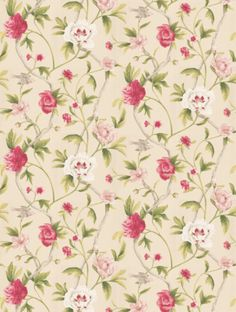 Flowering Tree (TRA05004), a feature wallpaper from Zoffany, featured in the Trade Routes collection. background