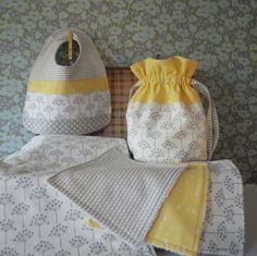 Beautiful Stylish Grey Baby Gift Set