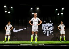 Nike News - Striking U.S. Women's National Team Home Kit and Footwear Collection From Nike