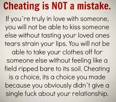 Cheating quotes about
