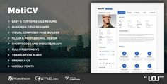 Download ThemeForest – Moticv v1.0.1 – vCard and Resume Builder WordPress Theme Free Download ThemeForest  Moticv v1.0.1  vCard and Resume Builder WordPress Theme Free