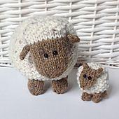 Ravelry: Moss the Sheep pattern by Amanda Berry