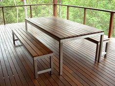 Fun and VJs: Outdoor furniture