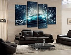 The Way to Design a Comfortable and Sports Themed living Room