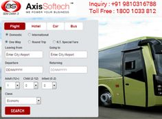 Bus Booking Engine by Axis Softech Pvt Ltd