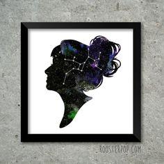 custom silhouette constellation.