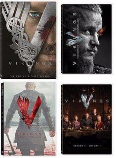 Vikings Complete Seasons 1 4 DVD Bundle 1 2 3 4 new Vikings Tv Show, Vikings Tv Series, Vikings Travis Fimmel, Vikings Ragnar, Ragnar Lothbrok, Lagertha, Roi Ragnar, Vikings Season 1, Viking Series