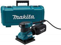 3. Makita BO4556K 2.0 Amp 4-1/2-Inch Finishing Sander with Case