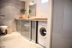 Afbeeldingsresultaat voor wasmachine in badkamer