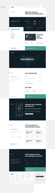 UX/UI web and mobile app design concept for the bank Mobile App Design, Finance, Finance Books, Economics