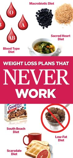 Now that you know which diet plans don't work wonders for your waistline, make sure you know which ones, well, do. You can check out the diet plans that actually work here, and then save this article for later by pinning this image and following Redbook on Pinterest for more ideas.   - Redbook.com