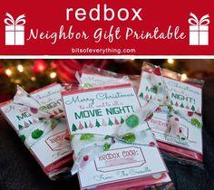 Redbox Gift Printable