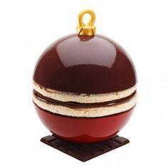 Sphères en chocolat