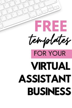 Free trainings for freelancers, templates, guides, and worksheets for virtual assistants and freelancers. Learn how to work from home by starting an online business. // The Support Squad -- Starting A Business, Business Planning, Business Tips, Online Business, Design Facebook, Virtual Assistant Services, Virtual Office Assistant, Virtual Reality, Augmented Reality