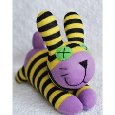 "Handmade ""Lavender"" Bunny Sock Doll"