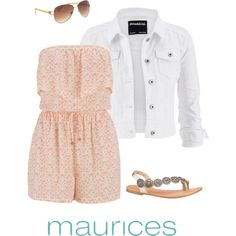 Spring #ootd by maurices on Polyvore featuring maurices