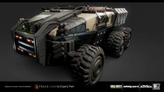 Assets for Call of Duty Infinite Warfare, Evgeny Park on ArtStation at https://www.artstation.com/artwork/LPNyP