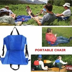 Outdoor Light Weight Portable Folding Chair Beach Grass Camping Hiking Sale - Banggood.com