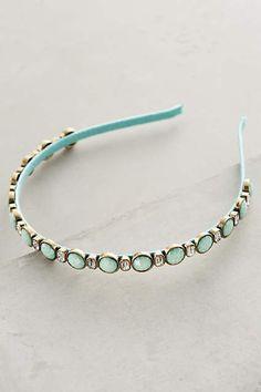 Turquoise Tenet Headband - anthropologie.com #anthroregistry